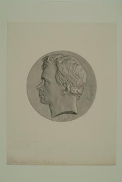 Friedrich Wilhelm Joseph von Schelling, David D'Angers, Pierre Jean -  (Quelle: Digitaler Portraitindex)