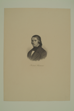 Robert Schumann,  (Quelle: Digitaler Portraitindex)