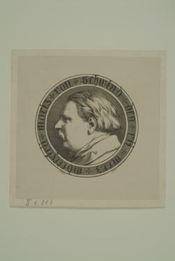 Moritz von Schwind, Steinle, Edward von -  (Quelle: Digitaler Portraitindex)