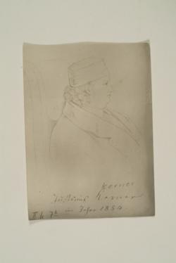 Justinus Kerner,  (Quelle: Digitaler Portraitindex)