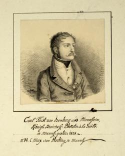 Karl (Carl) von Isenburg,  (Quelle: Digitaler Portraitindex)