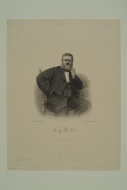 Fritz Reuter,  (Quelle: Digitaler Portraitindex)