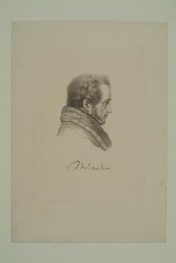 Wilhelm von Schadow,  (Quelle: Digitaler Portraitindex)