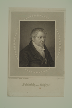 Friedrich von Schlegel, Josef Axmann -  (Quelle: Digitaler Portraitindex)