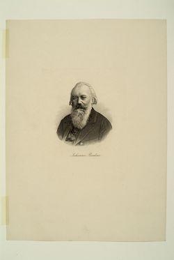 Johannes Brahms,  (Quelle: Digitaler Portraitindex)