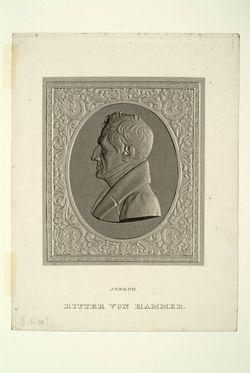 Joseph von Hammer-Purgstall,  (Quelle: Digitaler Portraitindex)