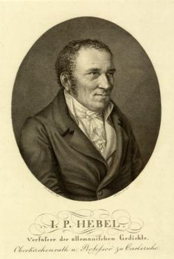 Johann Peter Hebel, Johann Heinrich Lips -  (Quelle: Digitaler Portraitindex)