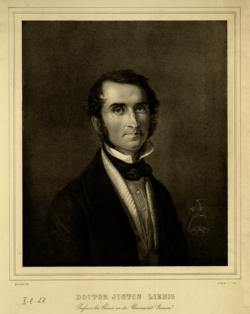 Justus von Liebig, Carl Engel - 1839 (Quelle: Digitaler Portraitindex)